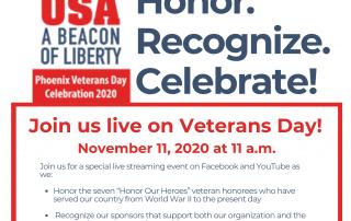 HAV Veterans Day Event Flyer